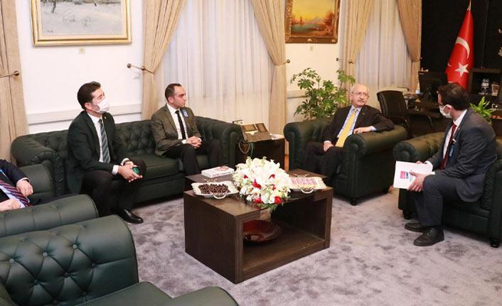 CHP Ortahisar'dan Kılıçdaroğlu'na ziyaret