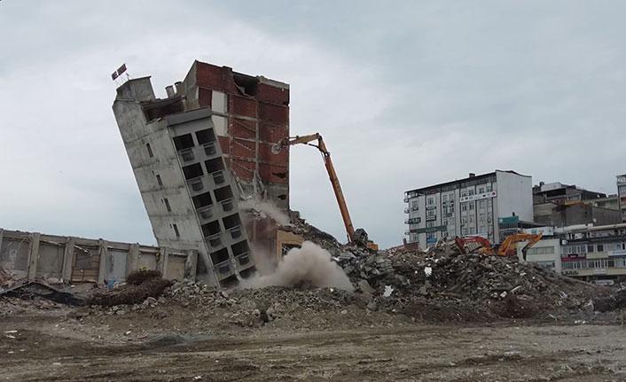 Rize'de tehlikenin boyutu yıkımla ortaya çıktı