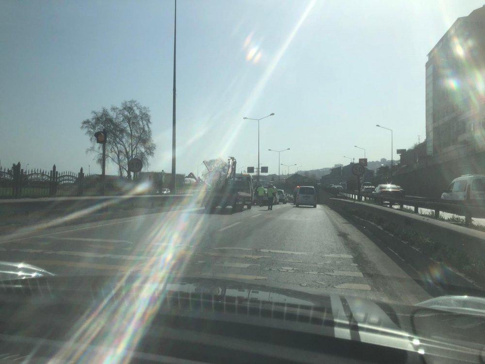 Trabzon'da iki ayrı zincirleme kaza!