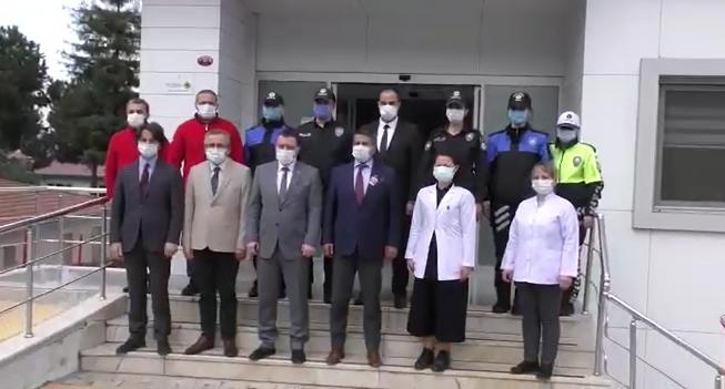 Trabzon Emniyetinden Polis Haftasında anlamlı bağış