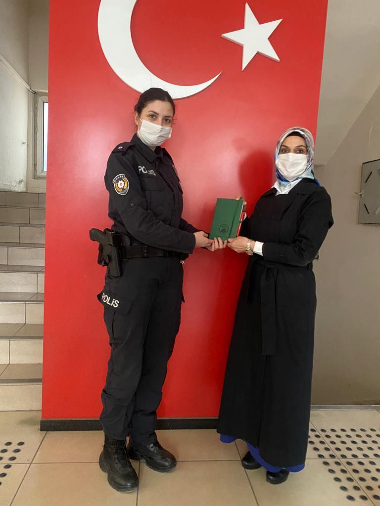 ANADER'den polislere ziyaret