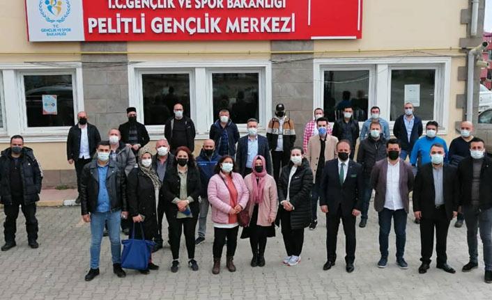 Trabzon'da emlakçılar ve adaylar sınava girdi