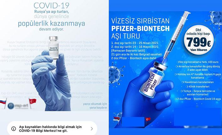 Korona dolandırıcılarının son hamlesi: Kovid-19 aşı turları