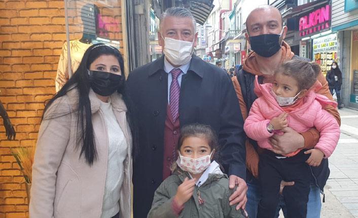 Örs Trabzon'da sahaya indi