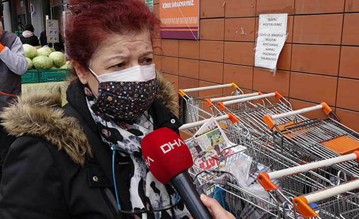 Trabzon'da kısıtlamalara uymayanlara tepki