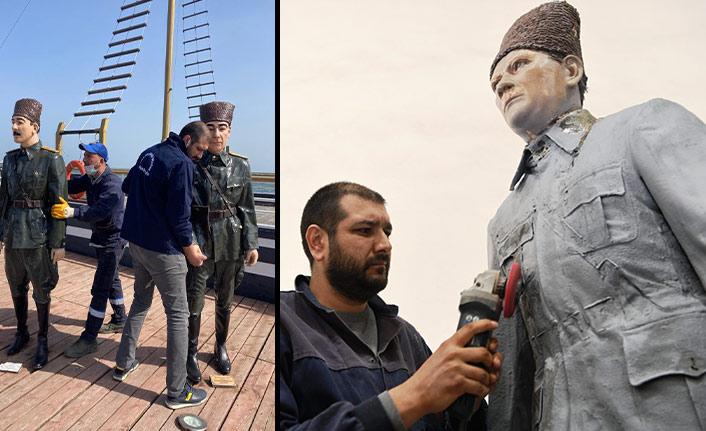 Atatürk'ün Samsun'a ilk ayak bastığı Tütün İskelesi bakıma alındı