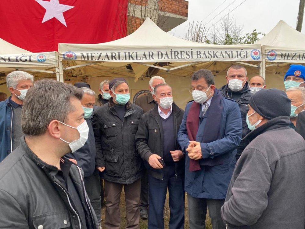 Ekrem İmamoğlu'ndan şehit Gençcelep'in ailesine ziyaret
