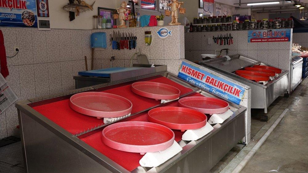 Trabzon'da tezgahlar kültür balıklarına kaldı! İşte fiyatlar...