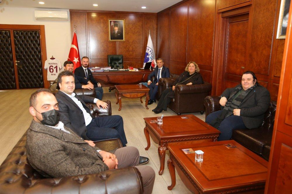 Deva Partisi Trabzon'dan Mustafa Bıyık'a ziyaret