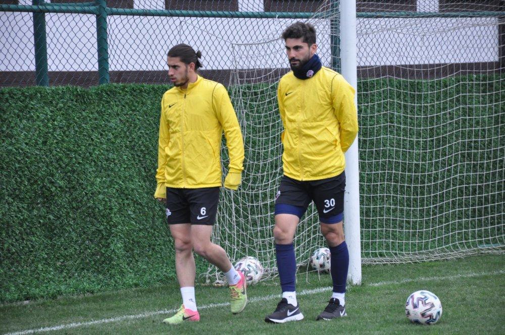 Hekimoğlu Trabzon Afyonspor'a hazırlanıyor