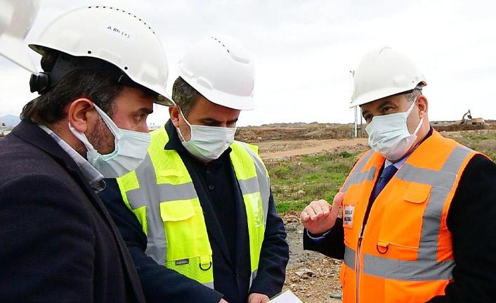 Vali Ustaoğlu'ndan şehir hastanesi incelemesi