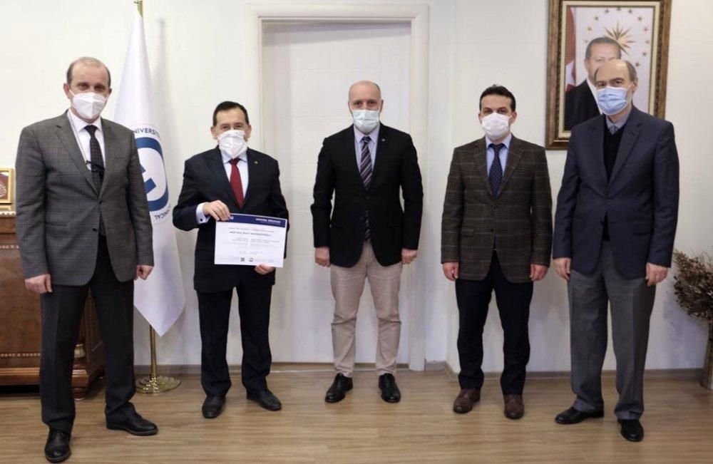 TTSO Başkanı Hacısalihoğlu mezun oldu