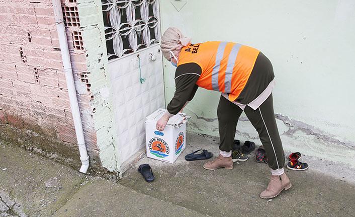 Samsun'da 4 bin ihtiyaç kolisi sahiplerine ulaştırıldı