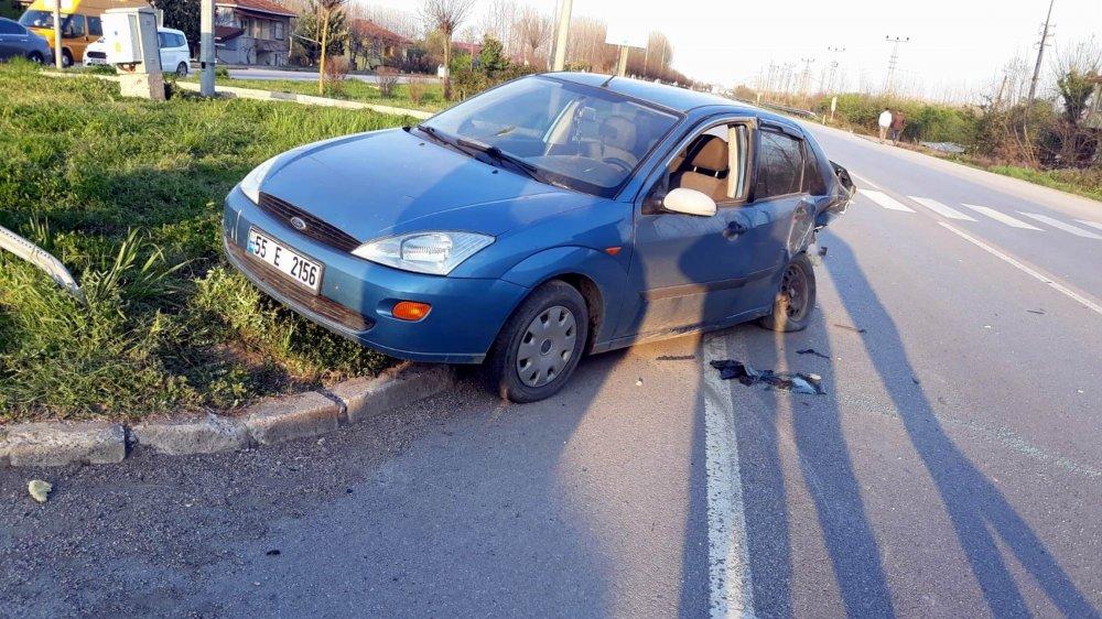Karadeniz Sahil Yolunda kaza! 6 Yaralı