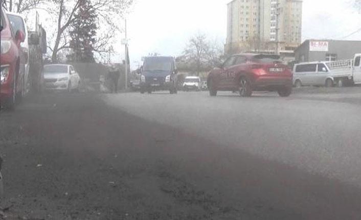 Trabzon'da bir mahalle kömür tozu nedeniyle perişan