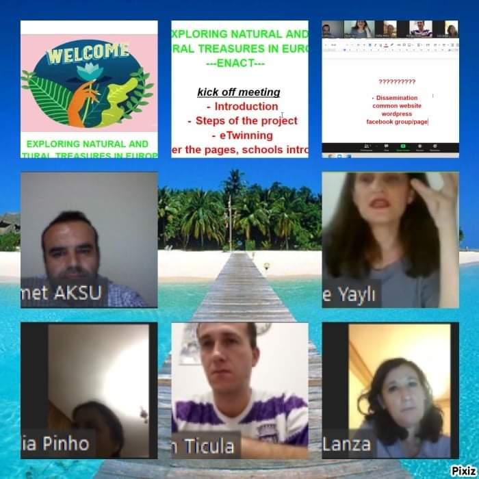 Yomra Merkez Ortaokulu'ndan Avrupa birliği projeleri