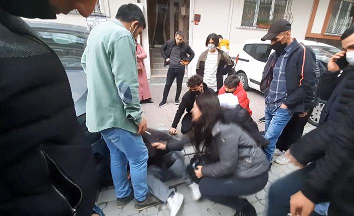 Taciz iddiasına mahalleliden meydan dayağı