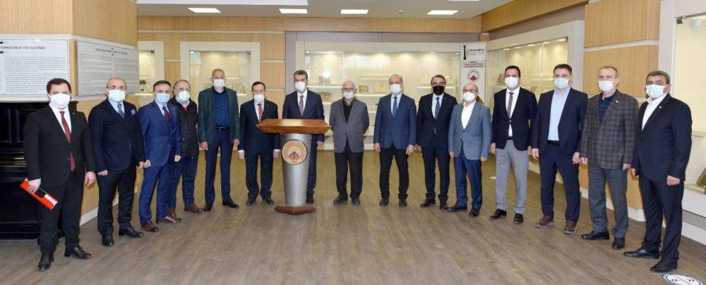 AK Parti heyetinden TTSO'ya ziyaret