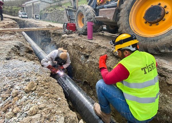 Trabzon'da 32 mahallenin su sorunu çözülüyor