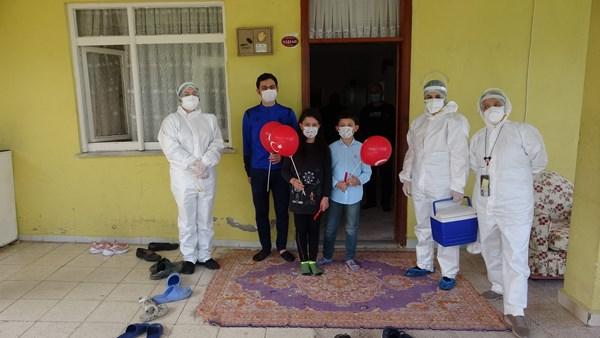 Trabzon'daki filyasyon ekiplerinden anlamlı sürpriz