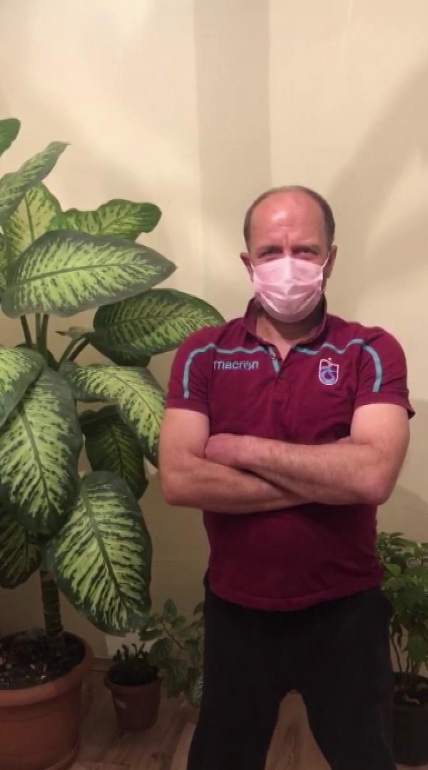 Koronavirüse yakalanan Trabzonlu yaptıklarıyla kırdı geçirdi