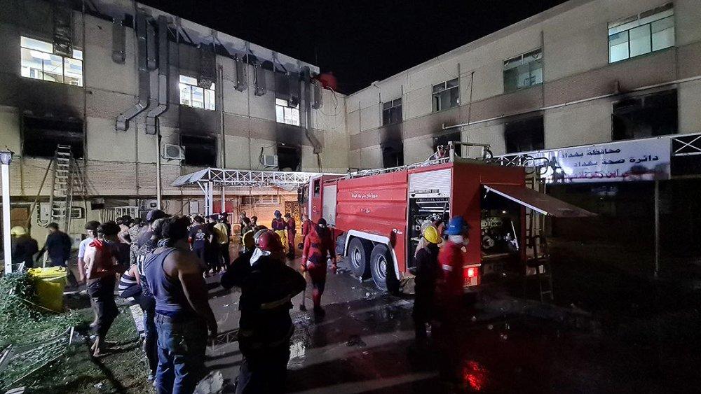 Irak'taki hastane yangınında ölü sayısı arttı