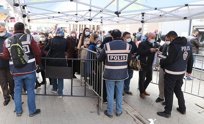 Samsun'da kısıtlama sonrası görüntüler pes dedirtti