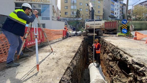 Trabzon'un yağmur suyu sorunu ortadan kalkıyor