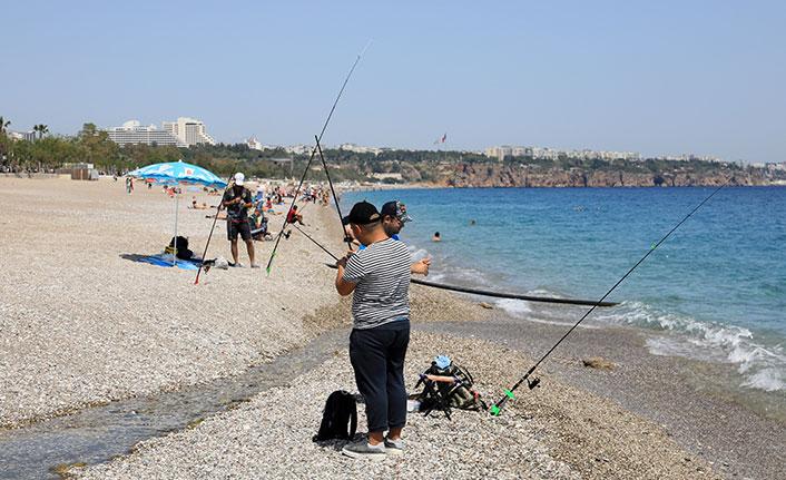 Samsun'da kaçak balık avı denetimi