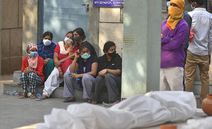 Hindistan'da günlük vaka sayısında yeni rekor