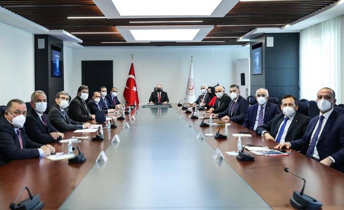 Ankara'da Trabzon toplantısı!