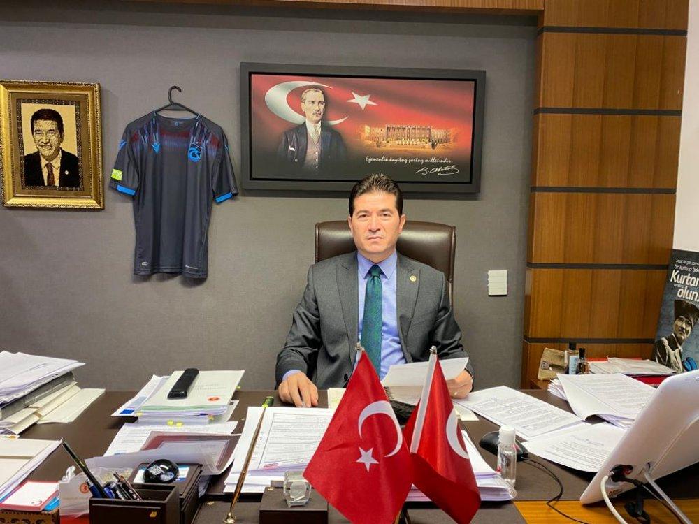 CHP'li Kaya Akyazı mahallesinin sorununa dikkat çekti!