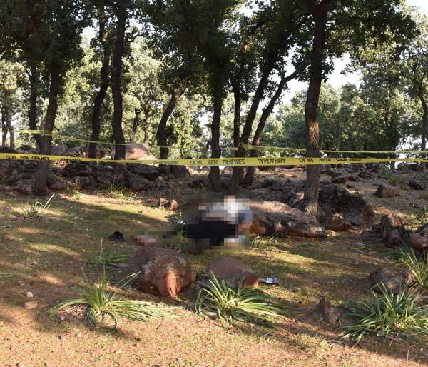 Haber alınamayan şahıs ormanlık alanda ölü bulundu