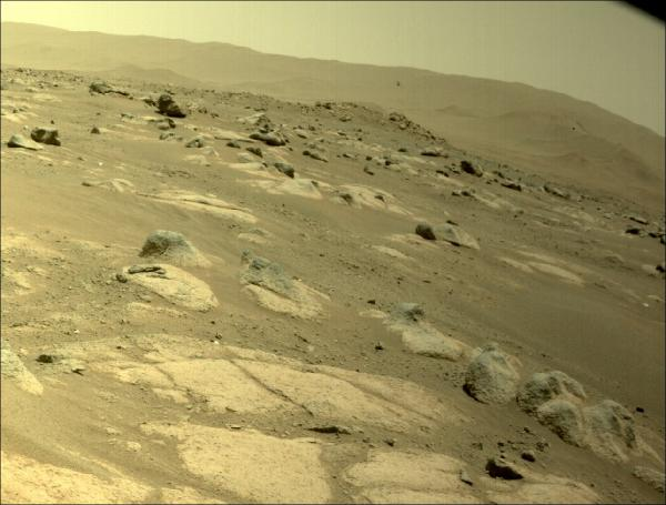 Mars helikopteri 4. uçuşunu 117 saniyede tamamladı