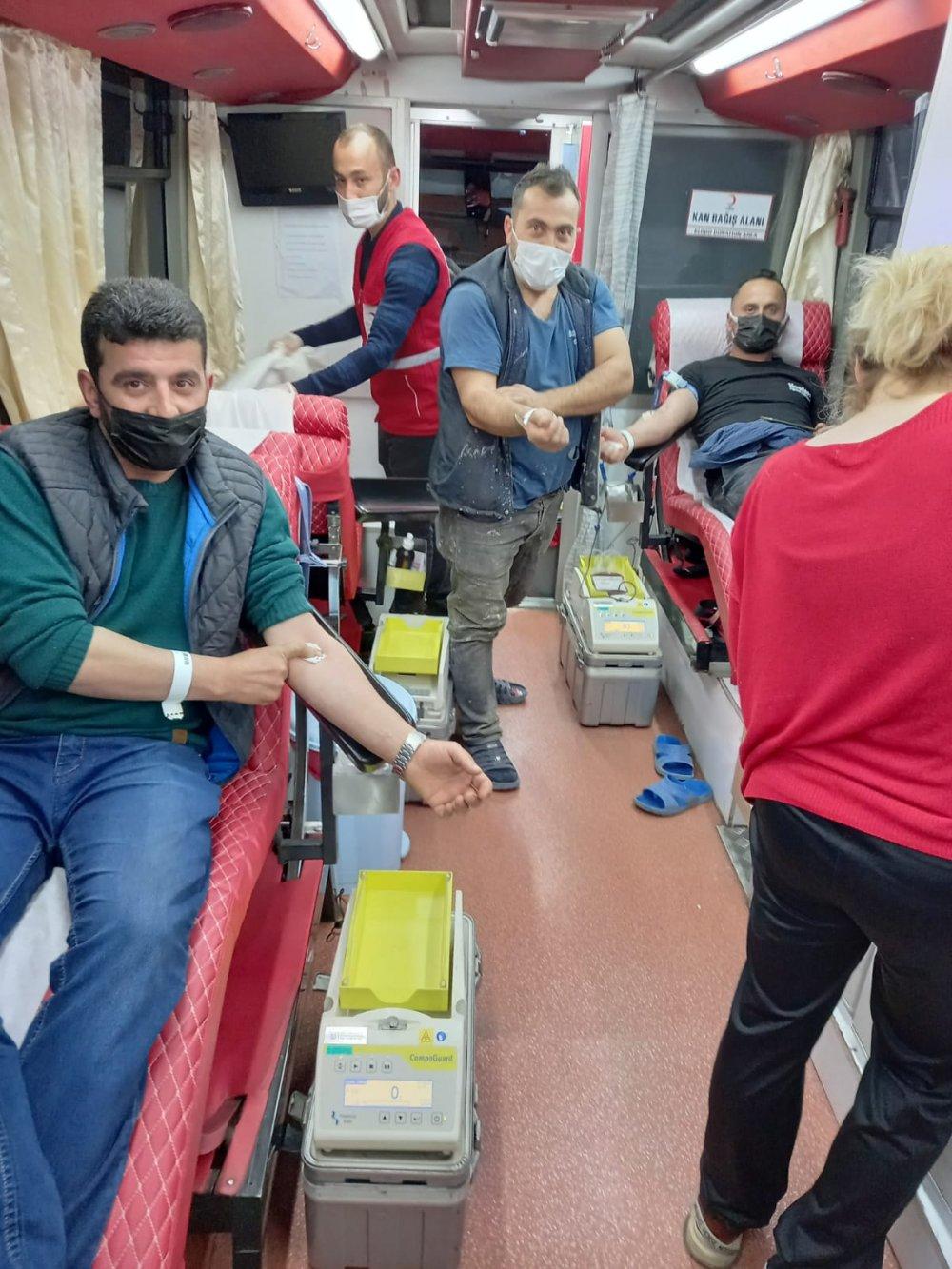 Kirazlık Mahallesi kan bağışında örnek oluyor
