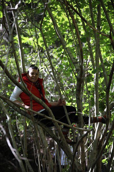 İkizdere'de taş ocağı karşıtları ağaçlarda nöbet tutuyor