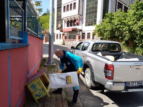 Trabzon'da sahipsiz canlar unutulmadı