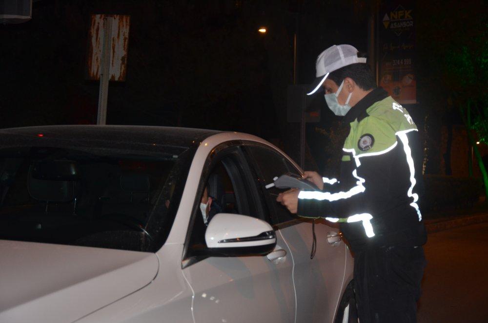 Ordu'da sürücüler alkol testinden geçti