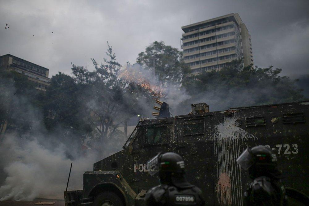 Kolombiya'da ölü sayısı 24'e yükseldi