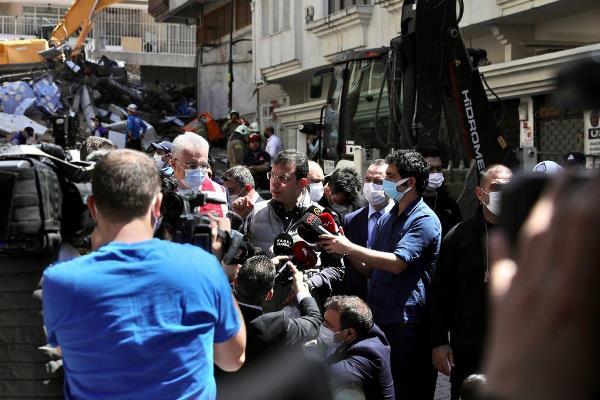 """İmamoğlu'ndan """"hasar tespit"""" sitemi: """"Bazı binalara belediyeler sokulmuyor bile"""""""
