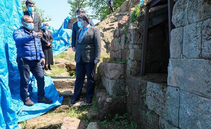 Karadeniz'in ilk arkeolojik kazı alanında çalışmalar devam ediyor