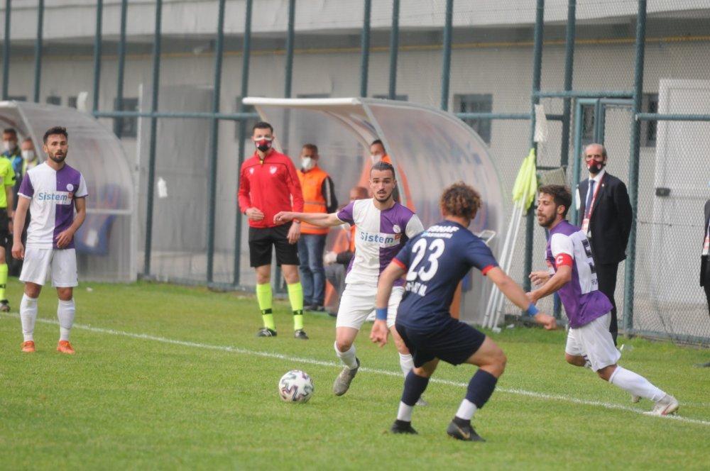 Yomraspor Play-off ilk maçında üzdü