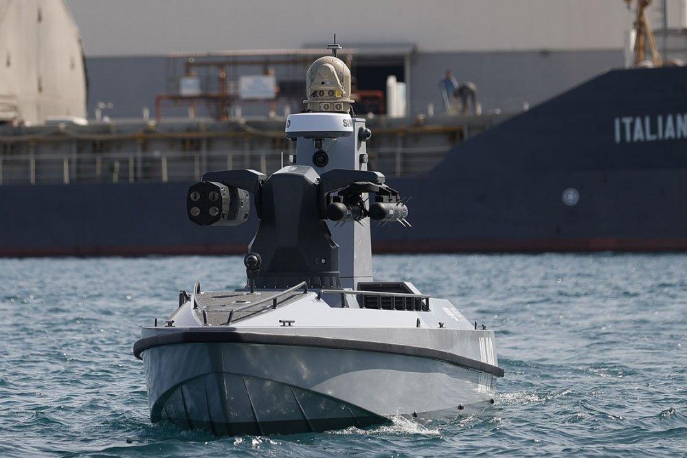 Türkiye'nin ilk silahlı insansız deniz aracı, füze atışlarına hazır