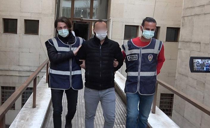 Genç kıza muşta ile saldırdı, 'Pardon' deyince serbest bırakıldı