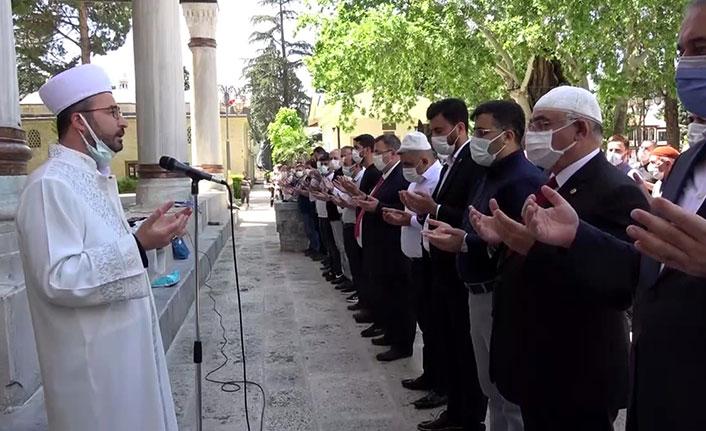 Samsun'da ölen Filistinliler için gıyabi cenaze namazı kılındı