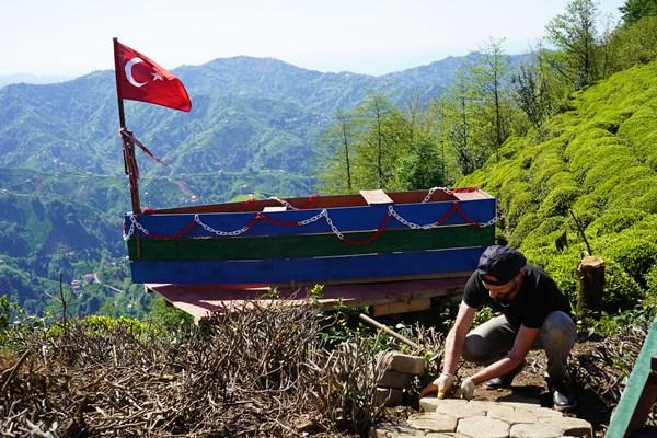 Rizeli turizmciler normalleşmeyi bekliyor