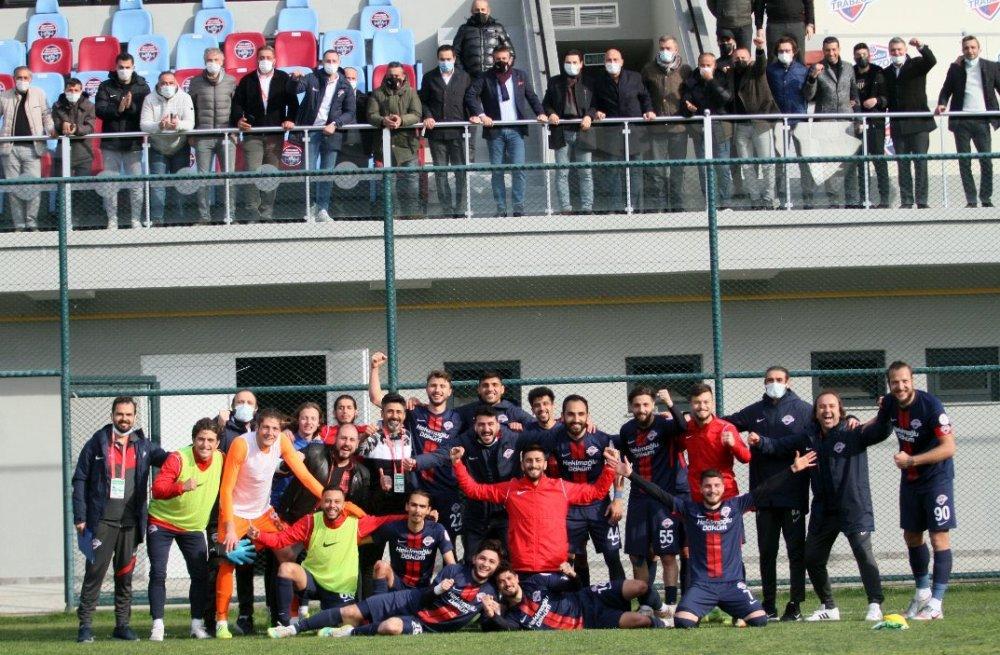 Hekimoğlu Trabzon zoru başardı