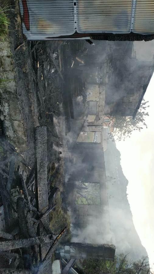 Trabzon'da 3 ayrı yangın! 6 kişi dumandan etkilendi