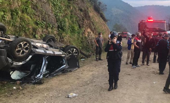 Trabzon'da kaza, çok sayıda yaralı var