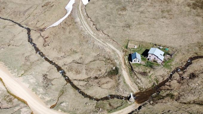 Trabzon'daki turba bataklığında kaçak yapı tehdidi